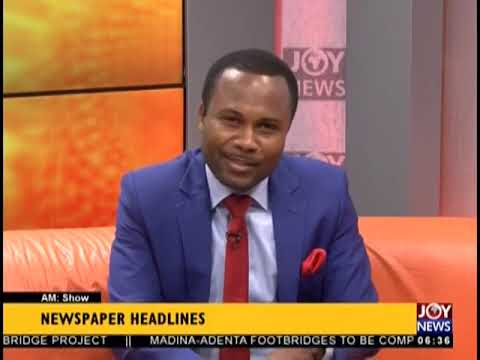 Ghana Exports Plantain - AM Show Headlines on JoyNews (6-12-18)