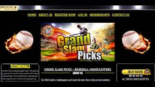 Grand Slam Picks Review!!! - 2018!!!