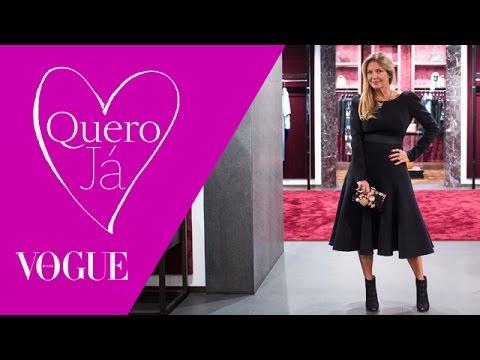 Dolce & Gabbana: Donata Meirelles Visita A Nova Loja Do Iguatemi
