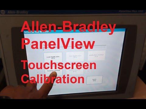 Allen-Bradley PanelView - Screen Calibration