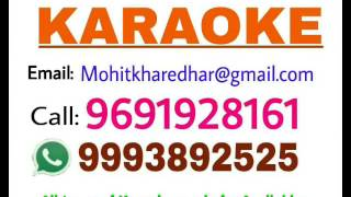 O Mahari ghumar che nakhrali - karaoke -Rajasthani