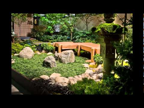 Japanese indoor garden design inspiration youtube for Indoor japanese garden