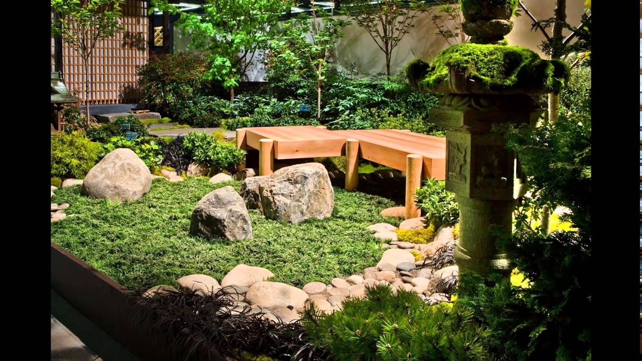 Charmant Japanese Indoor Garden Design Inspiration