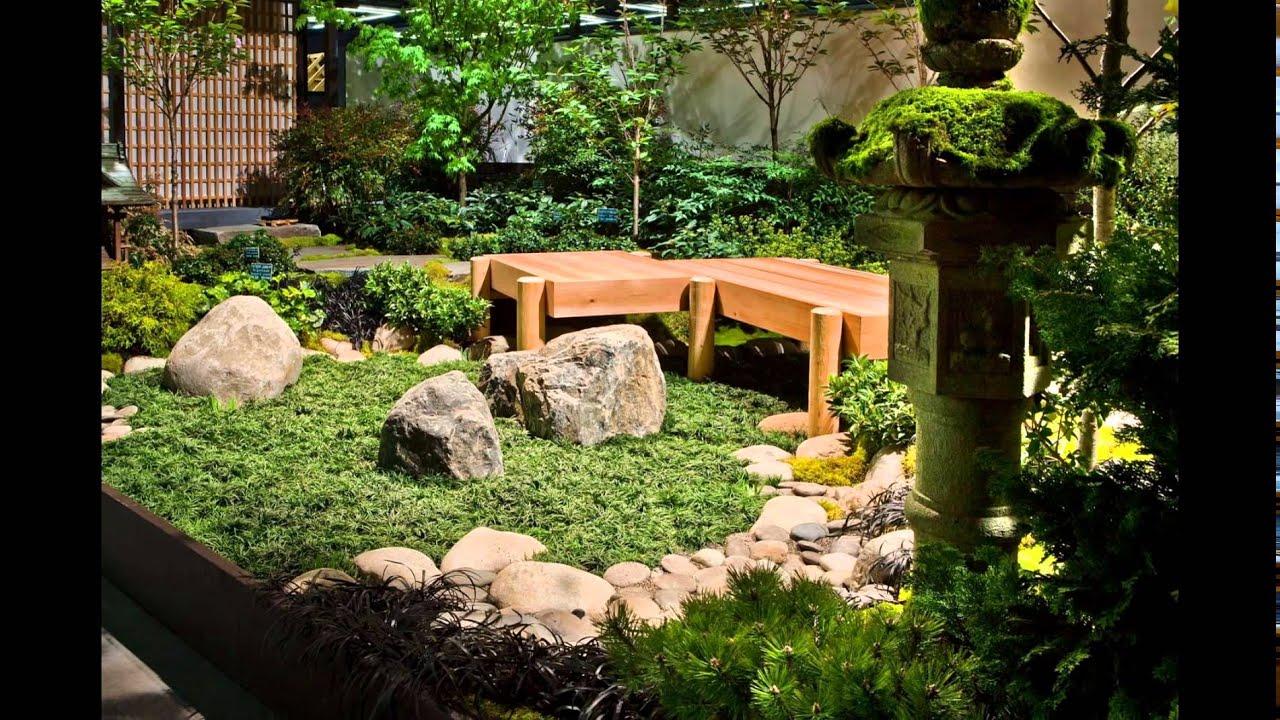 Japanese Indoor Garden Design Inspiration - YouTube
