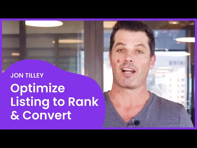 How To Optimize Your Keywords to RANK and CONVERT on Amazon #AmazonSEO