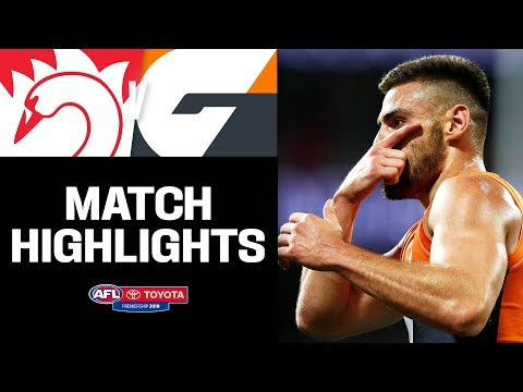 Stars shine in Sydney Derby | Sydney v GWS Giants Highlights | Round 6, 2019 | AFL