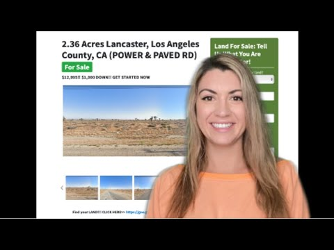 2.36 Acre Lancaster Property in Los Angeles County, CA (WITH POWER & PAVED R)