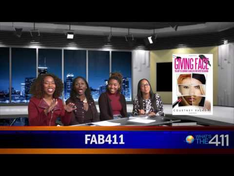 Beauty Consultant Courtney Rashon Talks About her New Book, Giving Face