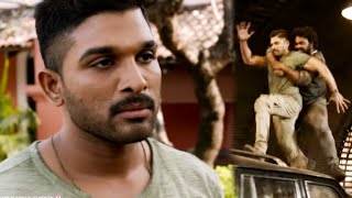 Allu Arjun Powerful Ultimate Back To Back Action Scene| Telugu Action Scene | Telugu Videos