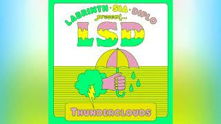 LSD - Thunderclouds ft. Sia, Diplo, Labrinth (Remix) Video
