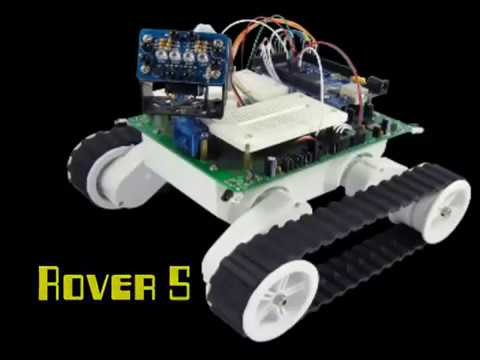 Dagu Rover 5 with chassis encoders