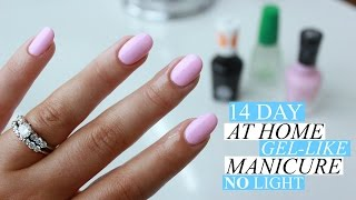 EASY AT HOME GEL-LIKE MANICURE