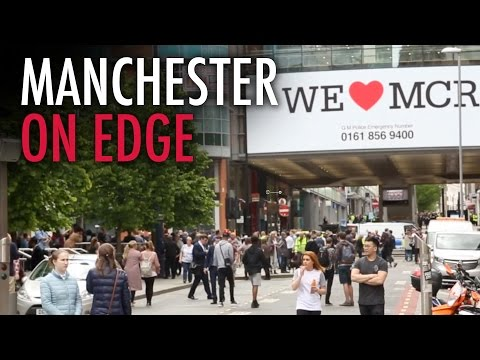The Rebel in Manchester: City Centre evacuated