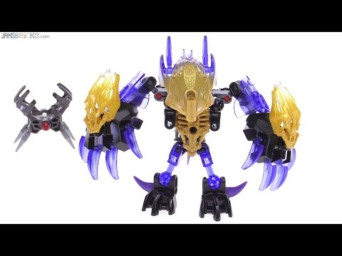 LEGO Bionicle 2016 Terak Creature of Earth review! 71304