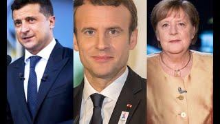 Без Путіна – Зеленський пішов напролом! Ніхто чекати не буде: з нас досить. Меркель и Макрон з нами