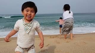 [구남매] 주문진 도깨비해변 '영진해변'