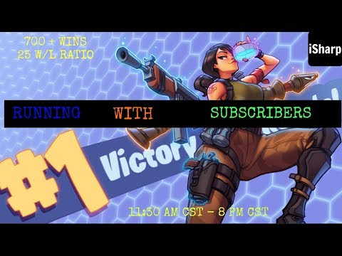 Fortnite Clan Tryouts With iSharp Gaming ll XBOX ONE