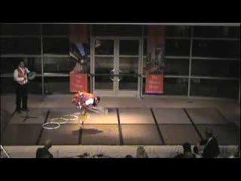 Nakotah LaRance - 6 time World Champion Hoop Dancer