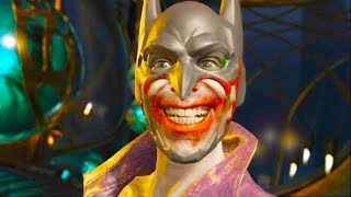 Injustice 2 PC - All Super Moves on Joker The Imposter Costume 4K Ultra HD Gameplay