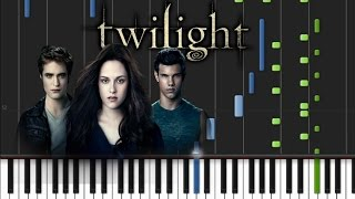 Twilight - Theme Song [Piano Tutorial] (♫)