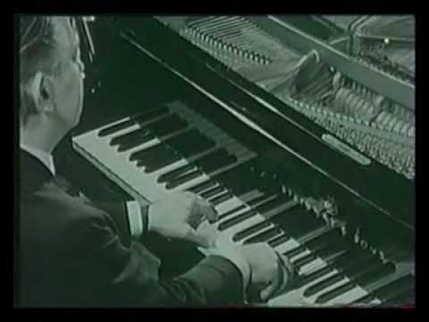Samson Francois joue la  Ballade N.4 de Chopin