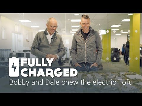Bobby and Dale chew the electric Tofu