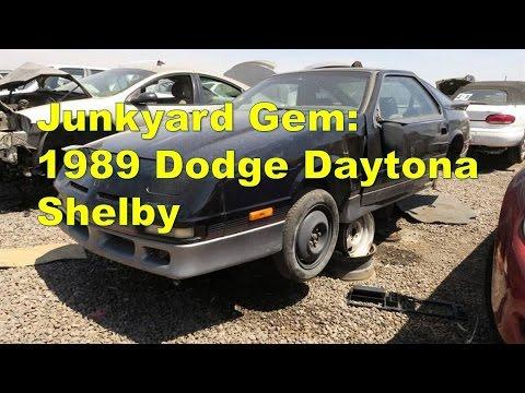 Junkyard Gem  1989 Dodge Daytona Shelby