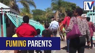 WATCH: Parents storm Limpopo education MEC
