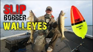 Walleye Fishing - Slip Bobber Tips