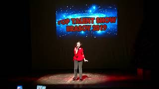 TOP TALENT SHOW DEC. 2019-  SOLOMIE ANASTASIA MARIA  POP INTERNATIONAL