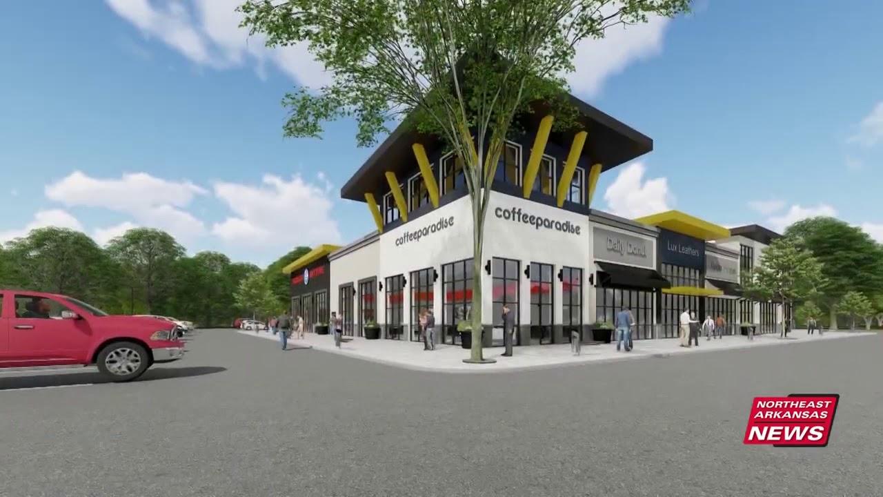 Local Group Redevelops a Shopping Center in Jonesboro