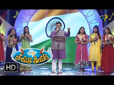 Jaya Jaya Jaya Priya Bharatha Song | SP Balu Performance In ETV Padutha Theeyaga | 23rd October 2016