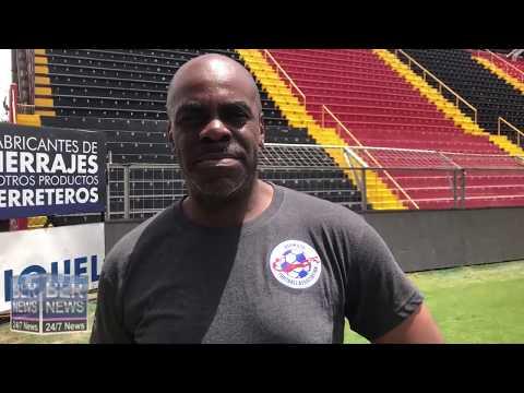 Bermuda Assistant Football Coach Ray Jones, June 12 2019