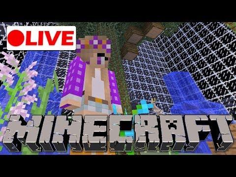 🔴  Upgrading Parrot Village! | Minecraft Live Stream Molecraft Server