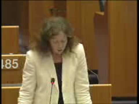 Jill Evans MEP questions UK Prime Minister Tony Blair 23 June 2005.wmv
