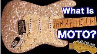 What is MOTO? | 1995 Fender Moto Set Stratocaster, Amp + Case | WYRON 196