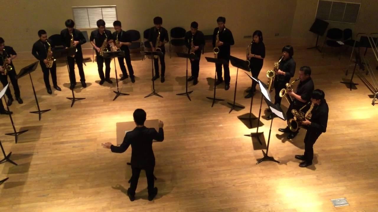 Saxophone Colors by Andre Waignein [Salaya Saxophone Ensemble]
