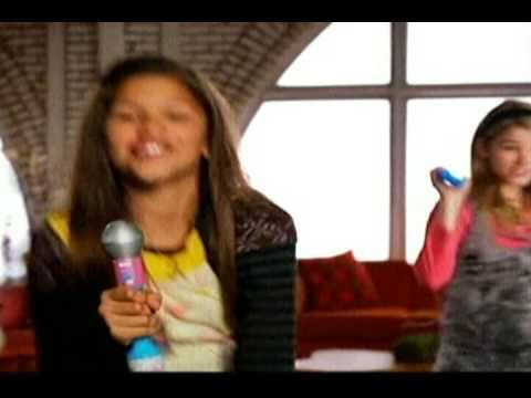 Steie Scott  Zendaya  Commercial for iCarly Fashion Switch Figures