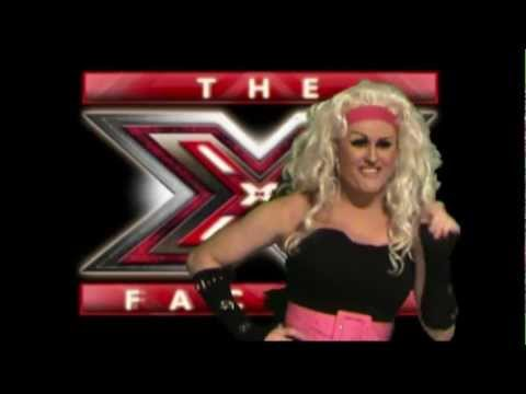 Drag Queen Demi Whore's Audition on The X-Factor,
