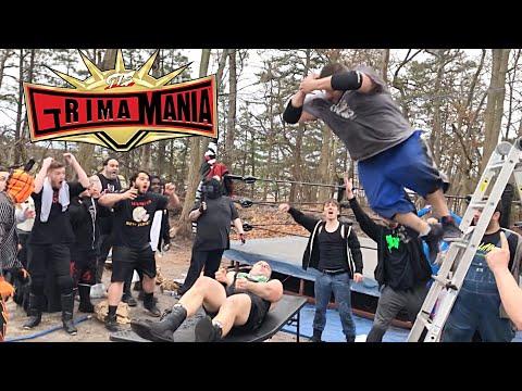 Brock Lesnar vs Kevin Owens BackyardMania!