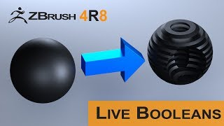 Zbrush 4R8: Live Booleans