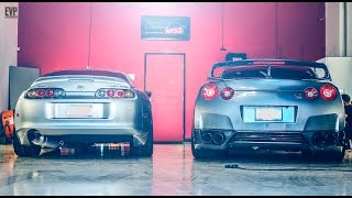 Detail Boss: Nissan GTR Toyota Supra Paint Correction & Protection