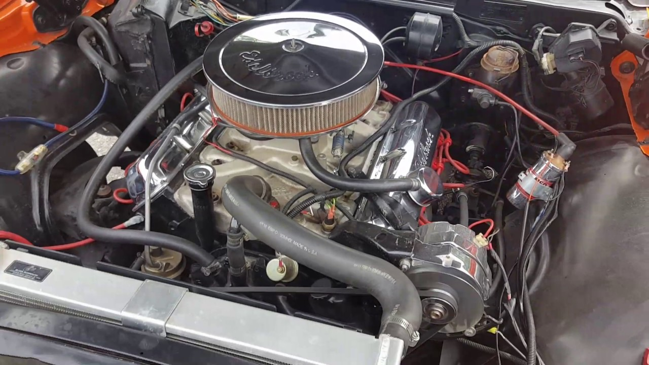 1966 Impala Wagon With An Olds 455 Big Block Youtube Chevy Engine