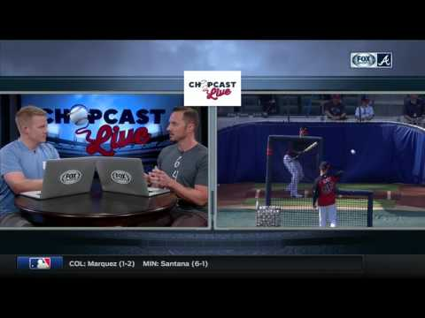 Chopcast LIVE: Braves getting impressive production out of veteran bats, and at a value