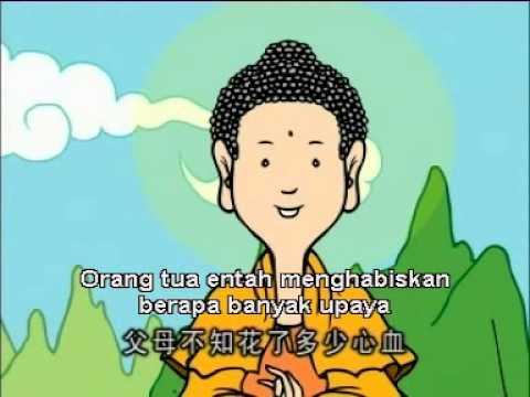 Sabda Buddha   Sutra Bakti Anak Kepada Orang Tua