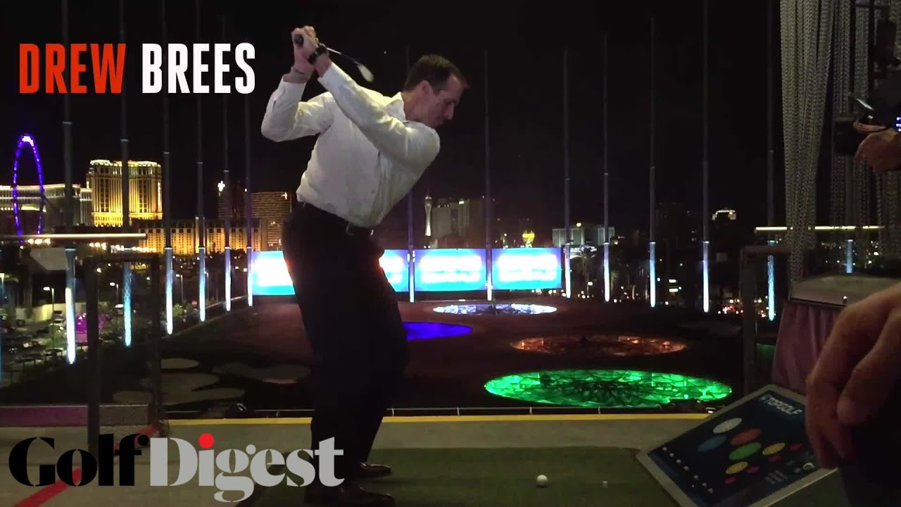 Drew Brees, T-Pain, and Paige Spiranac Party At Topgolf ...