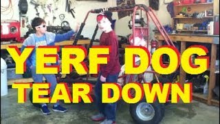 yerf dog go kart build