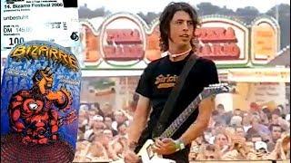 """Foo Fighters - Weeze 19.08.2000 """"Bizarre Festival"""" (TV)"""