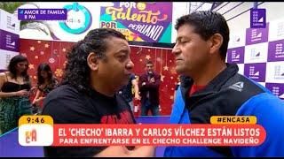 """Carlos Vílchez fue el primer retador del """"Checho Challenge ..."""