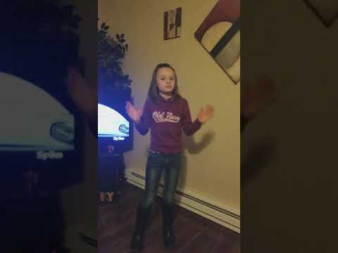 9 year old small town girl sings bubbly